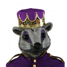 Mouse King Head, with Purple Crown - Nutcracker