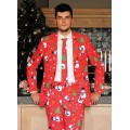 Christmaster Christmas mens suit & tie